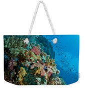 Reef Scene With Corals And Fish Weekender Tote Bag