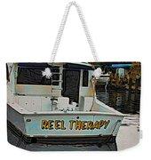 Reel Therapy Weekender Tote Bag