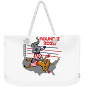Reelect Trump For President Keep America Great Light Weekender Tote Bag