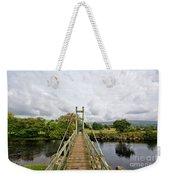 Reeth Swing Bridge Weekender Tote Bag
