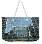 Reflected Buildings Weekender Tote Bag