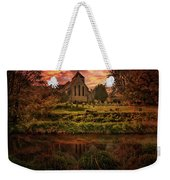 Reflected In The Stour Weekender Tote Bag