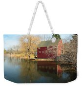 Reflectiion In Red Weekender Tote Bag