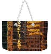 Reflecting Chicago Weekender Tote Bag