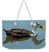 Reflecting Duck Weekender Tote Bag
