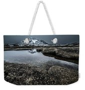 Reflecting Mountain Weekender Tote Bag