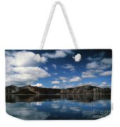 Reflecting On Crater Lake Weekender Tote Bag