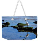 Reflecting On Dinner Weekender Tote Bag