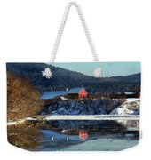 Reflecting On Farms By Connecticut Weekender Tote Bag