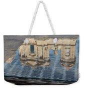 Reflecting On Noto Cathedral Saint Nicholas Of Myra - Sicily Italy Weekender Tote Bag