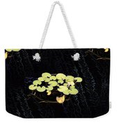Reflecting Pool Lilies Weekender Tote Bag