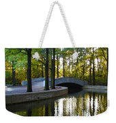 Reflecting Pool Roosevelt Park Weekender Tote Bag