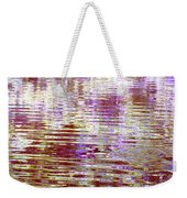 Reflecting Purple Water Weekender Tote Bag