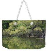 Reflecting Spring Green Weekender Tote Bag