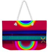 Reflectins On A Sunset Weekender Tote Bag