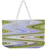 Reflection Abstract Abstract Weekender Tote Bag