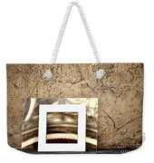 Reflection Against The Wall Weekender Tote Bag
