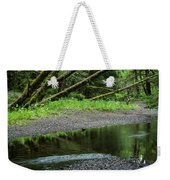 Reflection And Lines Weekender Tote Bag