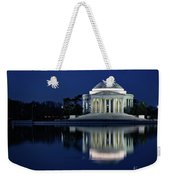 Reflection At Blue Hour Weekender Tote Bag