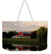 Reflection At Sunset Weekender Tote Bag
