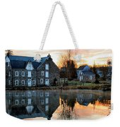 Reflection At Wagner Mill Weekender Tote Bag