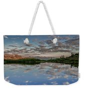 Reflection In A Mountain Pond Weekender Tote Bag