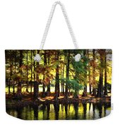 Reflection In Paint Weekender Tote Bag