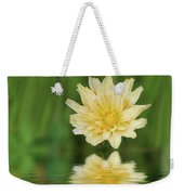 Reflection In Yellow Weekender Tote Bag