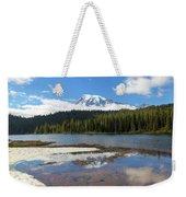 Reflection Lakes In Mount Rainier National Park Weekender Tote Bag