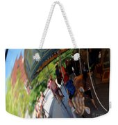 Reflection Of A Merry Go Round Weekender Tote Bag