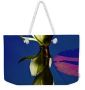 Reflection Of A Water Lily Weekender Tote Bag