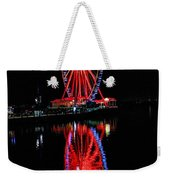 Reflection Of A Wheel Weekender Tote Bag
