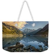 Reflection Of Aoraki Weekender Tote Bag