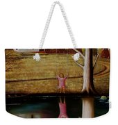 Reflection Of Protection. Weekender Tote Bag