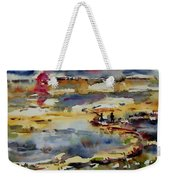 Reflection Of Sunset Glow Weekender Tote Bag