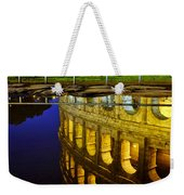 Reflection Of The Colosseum Weekender Tote Bag