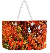 Reflection Of The Season Weekender Tote Bag