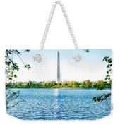 Reflection Of Washington Weekender Tote Bag