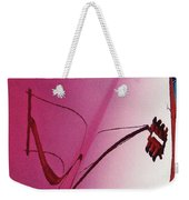 Reflection On A Red Automobile Weekender Tote Bag