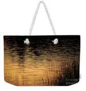 Reflection On A Sunset Weekender Tote Bag