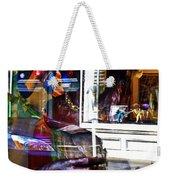 Reflection On Jazz Weekender Tote Bag
