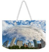 Reflection On The Bean Weekender Tote Bag