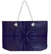 Reflection On Trees In The Dark Weekender Tote Bag