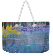 Reflection Pond Japan Weekender Tote Bag