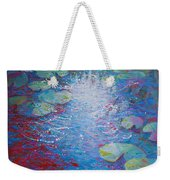 Reflection Pond With Liles Weekender Tote Bag