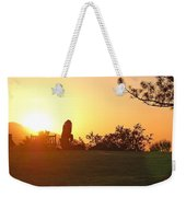 Reflection Time  Weekender Tote Bag
