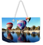 Reflections Along The Channel Weekender Tote Bag