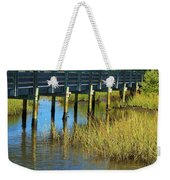 Reflections And Sea Grass Weekender Tote Bag