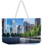 Reflections At 911 Memorial Weekender Tote Bag