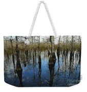 Reflections At Big Cypress Weekender Tote Bag
